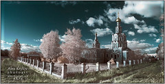 Sofrino (a.Kry) Tags: panorama church ir russia pano infrared   sofrino  infraredphoto