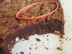 ina garten - outrageous brownies - football shaped (super bowl) - 14