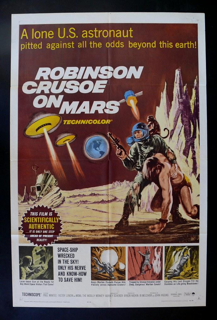robinsoncrusoeonmars_poster