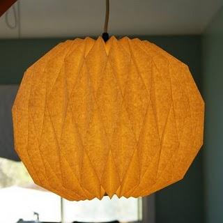 DIY pendant lantern