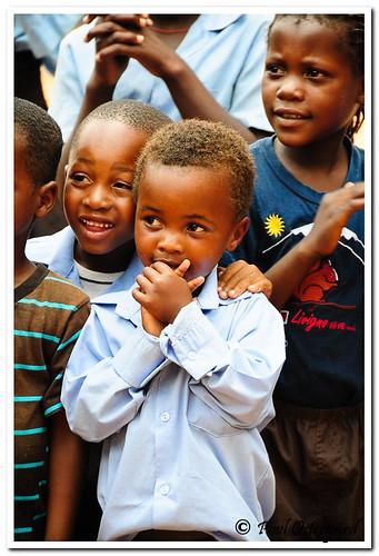 Skolebarn som har utelandsk besøk for første gang