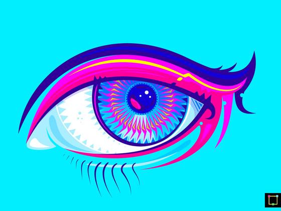 Ilustraciones psicodélicas