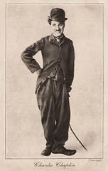 Charlie Chaplin (Truus, Bob & Jan too!) Tags: cinema film vintage movie star kino triangle european postcard charles cine screen charlie hollywood movies comedian actor british director tramp postale cartolina carte chaplin charliechaplin postkarte filmstar ansichtkaart filmster