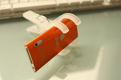 iPod nano with clothespin