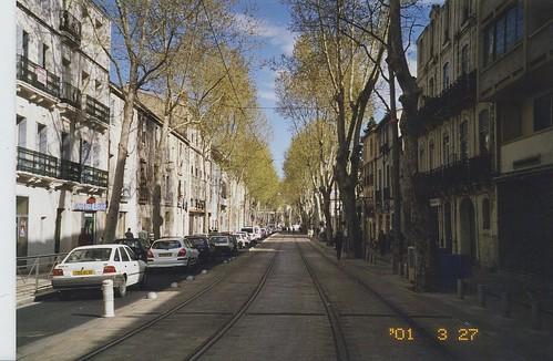 2001-03-27 Montpellier France (tramway 21st birthday 2)