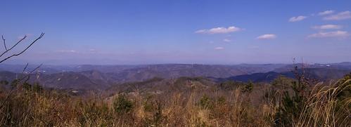 大芦高原からの眺め