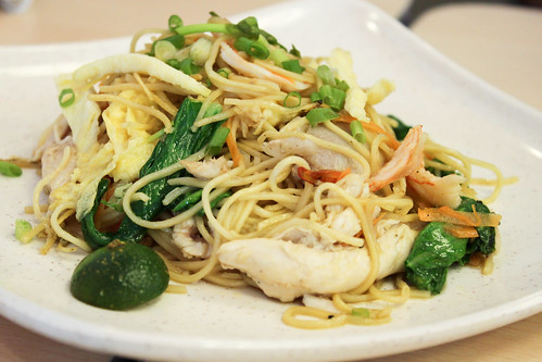 Pancit Chino at Singapore Chicken Rice