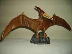 aurora prehistoric scenes Flying Reptile 2 (cyberman25ukuk) Tags: model plastic aurora figure kit prehistoric scenes