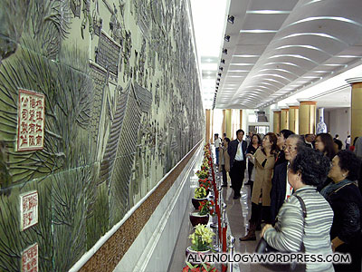 World's longest ceramic mural