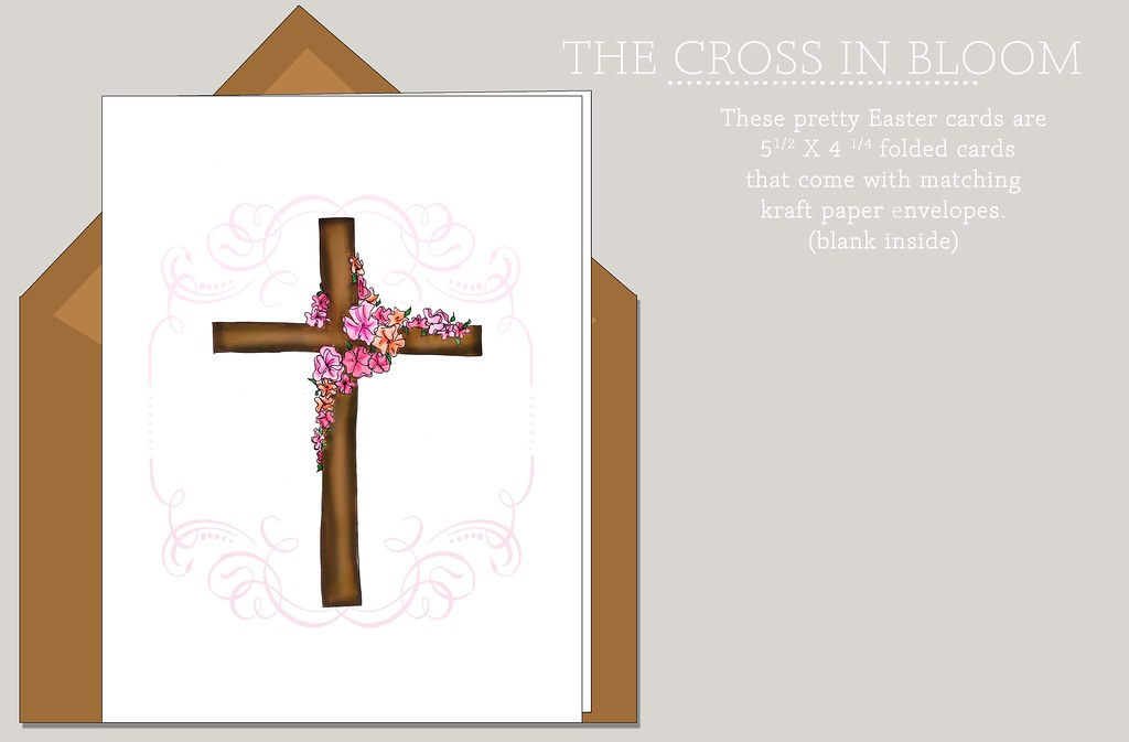 Cross in Bloom
