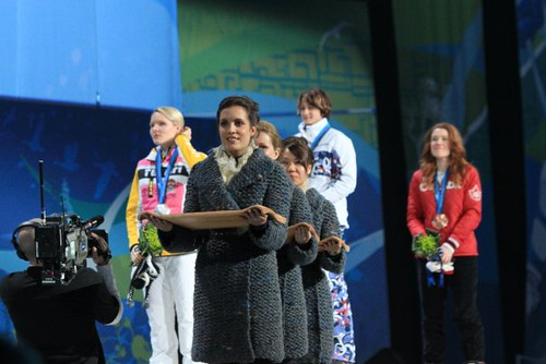 Olympic Victory Ceremony - February 24th