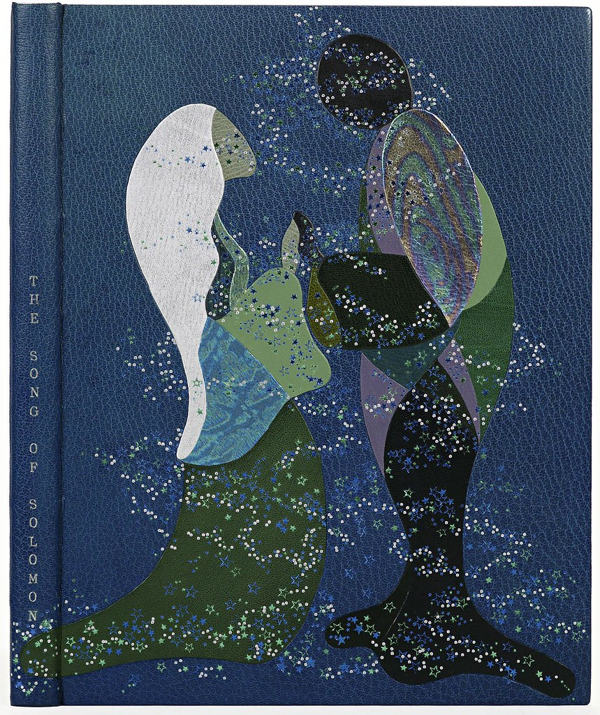KT Miura 'The Song of Solomon' (morocco leather and silverfoil) 1987