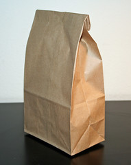 Brown Bag (without staple) by Jeffrey Beall, on Flickr