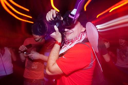 20.02.2010 АдZкое Щастье @Vagonka club ©  Dima Bushkov