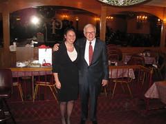 Warren Buffett with Fisher College of Business...