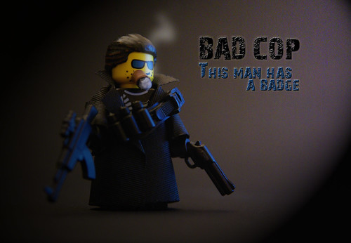 Bad cop custom minifig