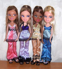 Bratz Sleepover (Bratz UK) Tags: sleep leah over sasha yasmin bratz cloe