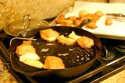 frying away!