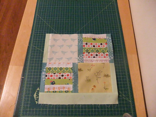February block for Live Piecefully 2