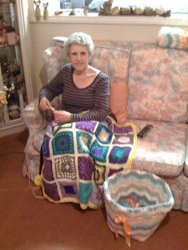 Here's Mrs Twins again! :( With Blanket 3.