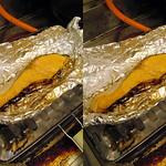 鮭ホイル焼き salmon (parallel 3D) thumbnail