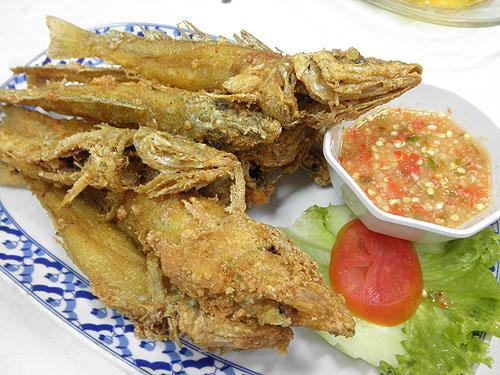 deepfried fish