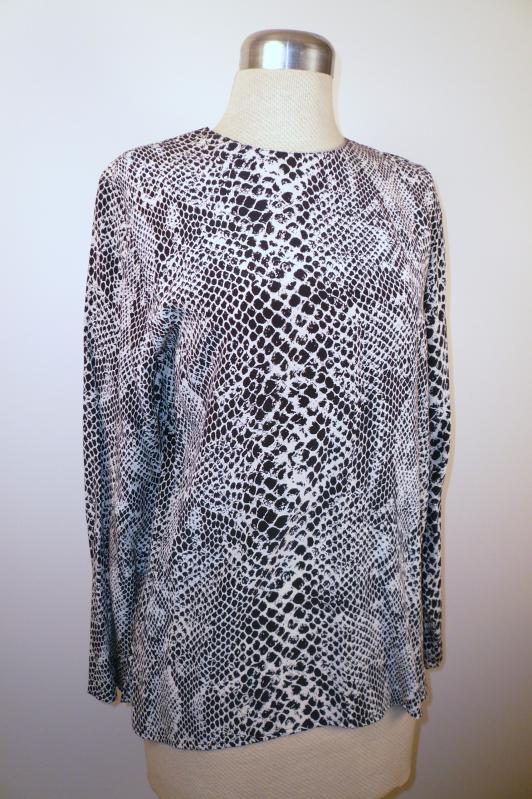 front_100%_silk_snake_print_top_Nora_Noh