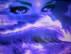 Tu sabes hablar con los ojos, solo haz que yo los lea... (conejo721*) Tags: argentina mar amor nostalgia ojos olas palabras mardelplata sentimiento poesa poema aoranza amordemivida conejo721