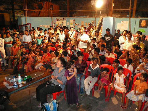 Everyone who counts in Dharavi was there
