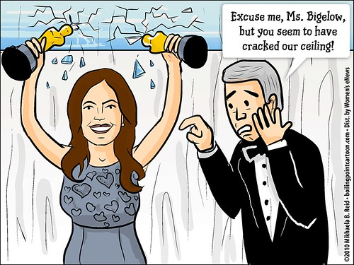 Cartoon: Hollywood's Cracked Glass Ceiling