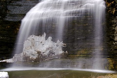 Ride 'em, Casper (+David+) Tags: waterfall dragon veiled ghost riding fingerlakes auntsarahsfalls watkinsglenmontourfalls