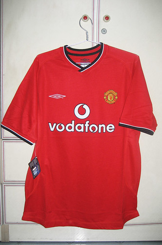Manchester United 2000-2002 Home S/S