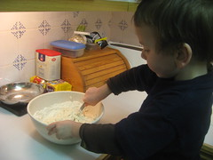 Making one-minute bread