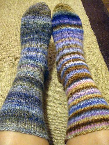 Crown Mountain Farms handspun socks