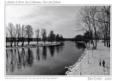 Les bords de l'allier en hiver, Pont du Château (BerColly) Tags: trees winter sky france clouds river google flickr hiver riviere ciel arbres nuages allier walkers reflexion auvergne refection blackdiamond puydedome urbanblackandwhite promeneurs anawesomeshot flickrdiamond diamondclassphotographe francelandscapes citrit artofimages bercolly bestcapturesaoi