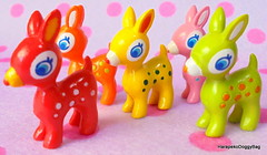 Japanese Toys : Kawaii & Colorful Miniature Babie Deer Toy Figures (HarapekoDoggyBag) Tags: japan japanese toys toy japanesetoys kawaii cute mini puchi miniature dollhouse miniaturetoys dollhouseminiatures plastictoys babie animal miniaturedeer deer babiedeer character