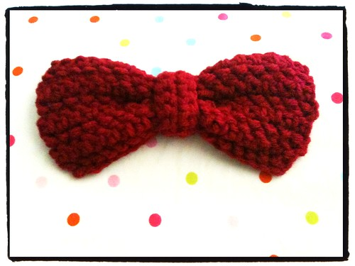A bow!