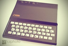 Back to the 80's - Sinclair ZX81 (noscoo) Tags: computer retro sinclair zx81 sinclairzx81 homecomputer