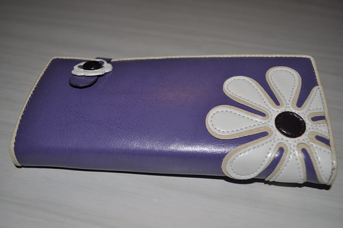 new purple wallet