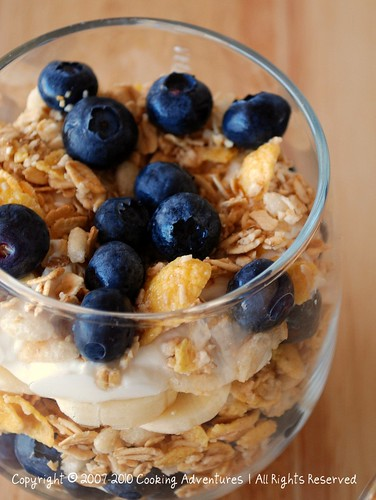 Blueberry & Banana Parfait