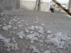 Salty Steps (Zach McArthur) Tags: winter snow cold ice stairs concrete spring cement steps salt melt sodium slippery icemelt