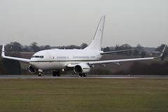 N79711 - 30547 - Dallah Al Baraka - Boeing 737-7BQ BBJ - Luton - 091202 - Steven Gray - IMG_4768