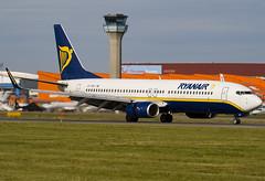 EI-CSN - 29927 - Ryanair - Boeing 737-8AS - Luton - 070930 - Steven Gray - IMG_0265