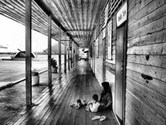 Take Care (n23art) Tags: white black children us all mother phuket southchinasea floatingvillage thaiand xpress olympuse410 n23art