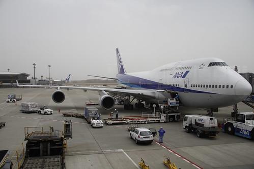 ANA plane