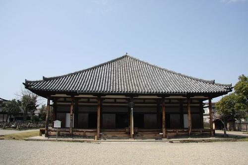元興寺極楽坊本堂(国宝) Gangō-ji Temple