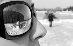 Reflet au touriste
