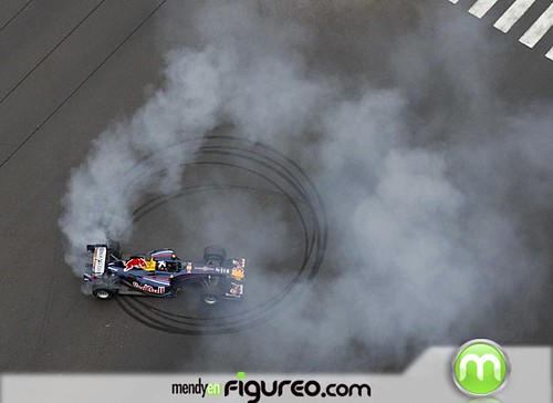 Red Bull F1 Showrun Lima