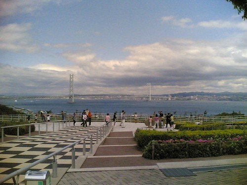 Akashi Strait Bridge from Awaji SA