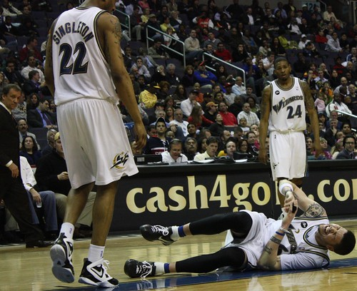 Mike Miller, Injury, Washington Wizards, NBA, Charlotte Bobcats